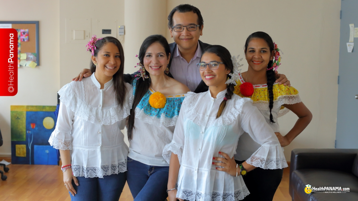The HealthPanama.com team at Panasalud, S.A. offices in Panama.